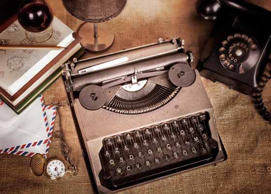 Contact type writer
